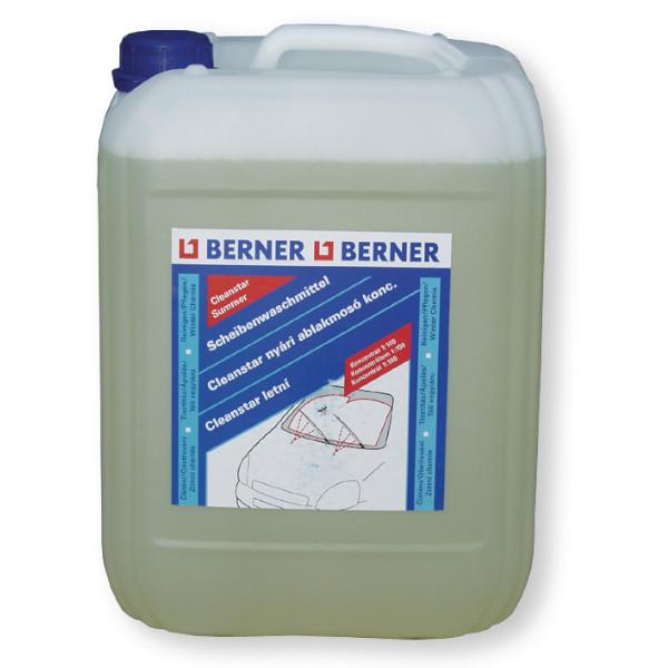 BERNER Nyári szélvédőmosó koncentrátum 10 l Tisztítás